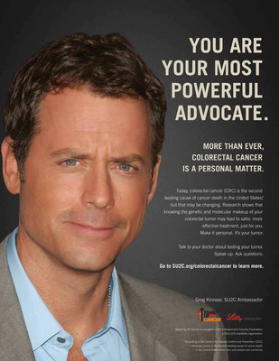 Greg Kinnear Joins Stand Up To Cancer (SU2C) and Lilly Oncology in New Colorectal Cancer PSA