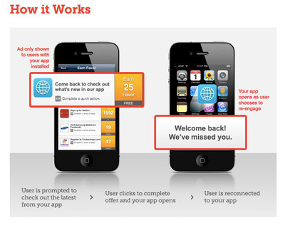 Tapjoy Reconnect brings user choice and rewards to re-engagement for the first time.  (PRNewsFoto/Tapjoy, Inc.)