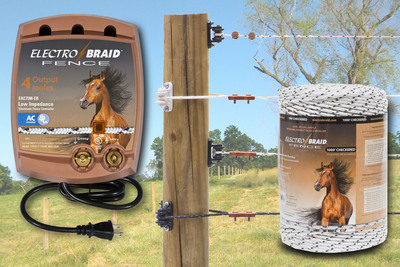 Expanded Line of ElectroBraid Products from Woodstream Designed for Safe and Secure Fencing