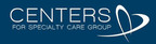 Centers for Specialty Care Group logo.  (PRNewsFoto/Centers for Specialty Care Group)