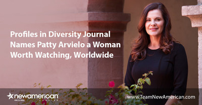Profiles in Diversity Journal Names Patty Arvielo a Woman Worth Watching, Worldwide.