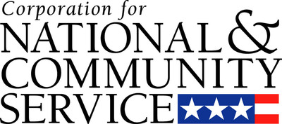 Corporation for National and Community Service (CNCS) logo.  (PRNewsFoto/Corporation for National and Community Service (CNCS))