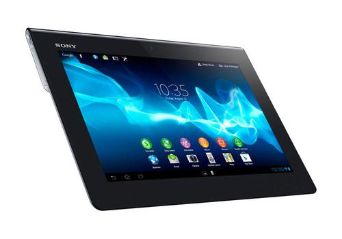 Xperia Tablet S.  (PRNewsFoto/Sony Electronics, Inc.)