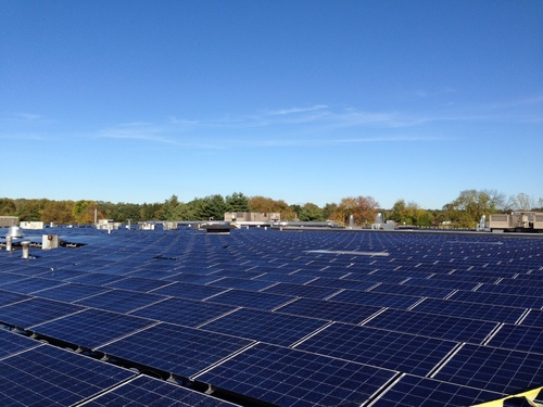 Nice-Pak and PDI Complete Installation of 855kw Solar Array on Rooftop of Orangeburg NY Headquarters and Plant. This solar system is the largest rooftop array in Rockland County and one of the largest of its kind in New York. The companies' installed the array as part of their shared commitment to invest in and support sustainable business practices. NYSERDA provided funding under Gov. Cuomo's NY-Sun Initiative (PRNewsFoto/Nice-Pak)
