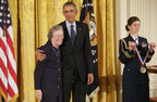 Honeywell UOP Scientist Edith Flanigen Receives National Medal of Technology and Innovation From President Obama