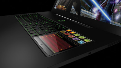 The Razer Blade's Revolutionary Switchblade User Interface Features Several New Apps and Features to go along with boosted performance