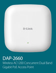 D-Link today announced the DAP-2660, a high power 802.11ac wireless access point designed to support increased device densities with advanced processing power. (PRNewsFoto/D-Link Systems)