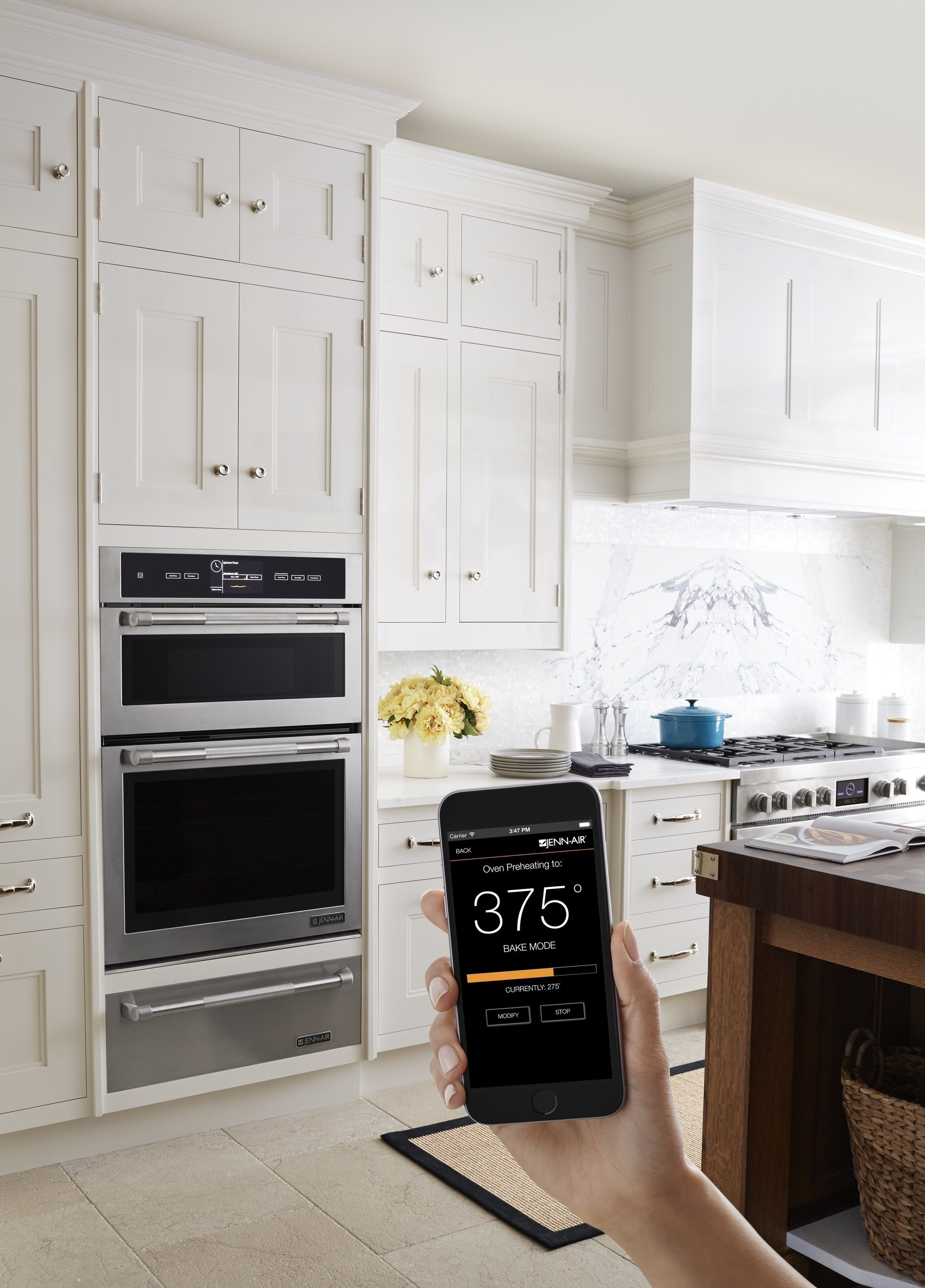 Jenn-Air(R) Connected Wall Oven with MultiMode(R) Convection System