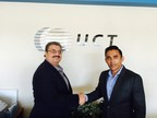 Victor Gonzalez, VP of Global IT at UCT with Irfan A. Khan, CEO and President of Bristlecone (PRNewsFoto/Bristlecone Inc)