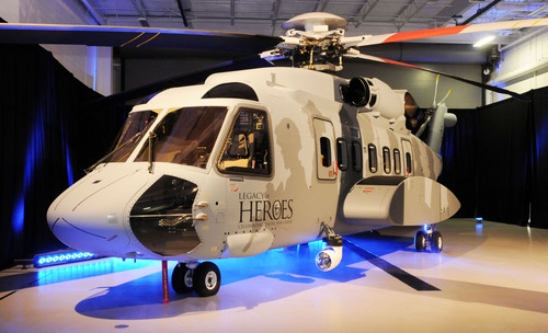 "Sikorsky S-92(R) ""Legacy of Heroes"" Demo Tour Begins.  (PRNewsFoto/Sikorsky Aircraft Corp.)"