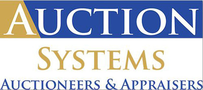 Auction Systems Auctioneers & Appraisers Inc.  (PRNewsFoto/Auction Systems Auctioneers & Appraisers, Inc.)
