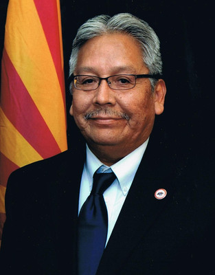 Terry Rambler, Chairman, San Carlos Apache Tribe and Chairman, Arizona Indian Gaming Association, Named One of 25 Most Influential Minority Business Leaders in Arizona. (PRNewsFoto/Arizona Indian Gaming Association) (PRNewsFoto/ARIZONA INDIAN GAMING ASSOC...)