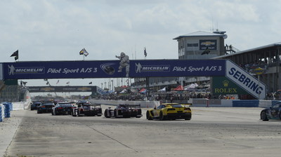 Michelin Rolls On As The Official Tire Of Sebring International Raceway