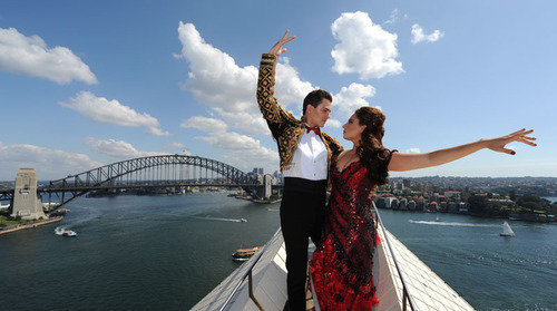 Sydney sparkles with Baz Luhrmann's Strictly Ballroom Spectacular. (PRNewsFoto/Destination NSW) ...