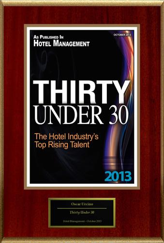 """Oscar Urcino Selected For """"Thirty Under 30"""". (PRNewsFoto/American Registry) (PRNewsFoto/AMERICAN ..."""