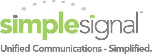 SimpleSignal, Provider of Business Communication Solutions (Logo).  (PRNewsFoto/SimpleSignal)