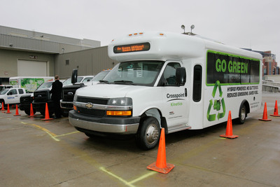 Fleet operators can test-drive more vehicles than ever before at this year's Green Truck Ride-and-Drive at The Work Truck Show. Vehicles available for test-drives on city streets and in a new closed-access course include trucks, shuttle buses and vans powered by the latest alternative fuel and hybrid systems. The Work Truck Show(R) 2014, North America's largest work truck event, runs March 5-7 at the Indiana Convention Center in Indianapolis, IN. Educational programming, including the Green Truck Summit, begins March 4.  (PRNewsFoto/NTEA)