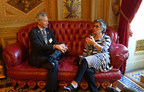 National League of Cities President Ralph Becker, mayor of Salt Lake City, Utah, discusses the DRIVE Act with Sen. Barbara Boxer (D-Calif.) July 9, 2015.
