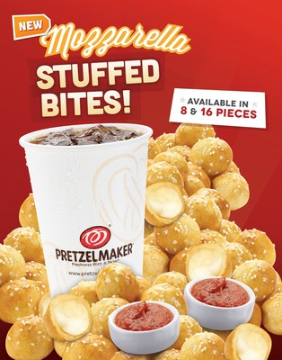 Pretzelmaker Introduces New Mozzarella Stuffed Bites!