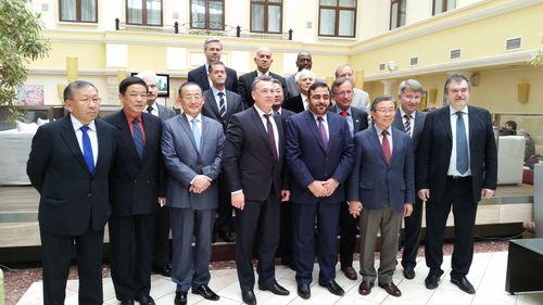 Dr. Mansoor Al Awar, Chancellor of the Hamdan Bin Mohammed Smart University (HBMSU) and Chairman of UNESCO IITE  ...