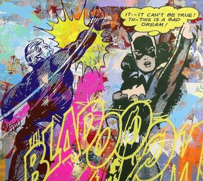 Greg Gossel, Bad Dream (yellow), Vertical Gallery, 2014 (PRNewsFoto/Vertical Gallery)