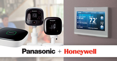 Panasonic Announces Full Availability of Honeywell Wi-Fi Smart Thermostats for its Home Monitoring System