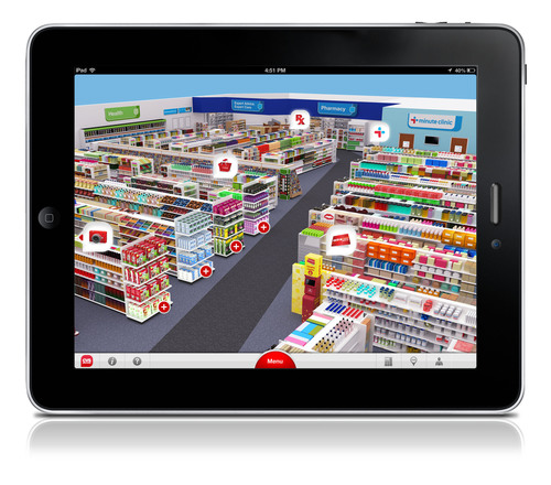 New CVS iPad App available now on the Apple Store.  (PRNewsFoto/CVS/pharmacy)