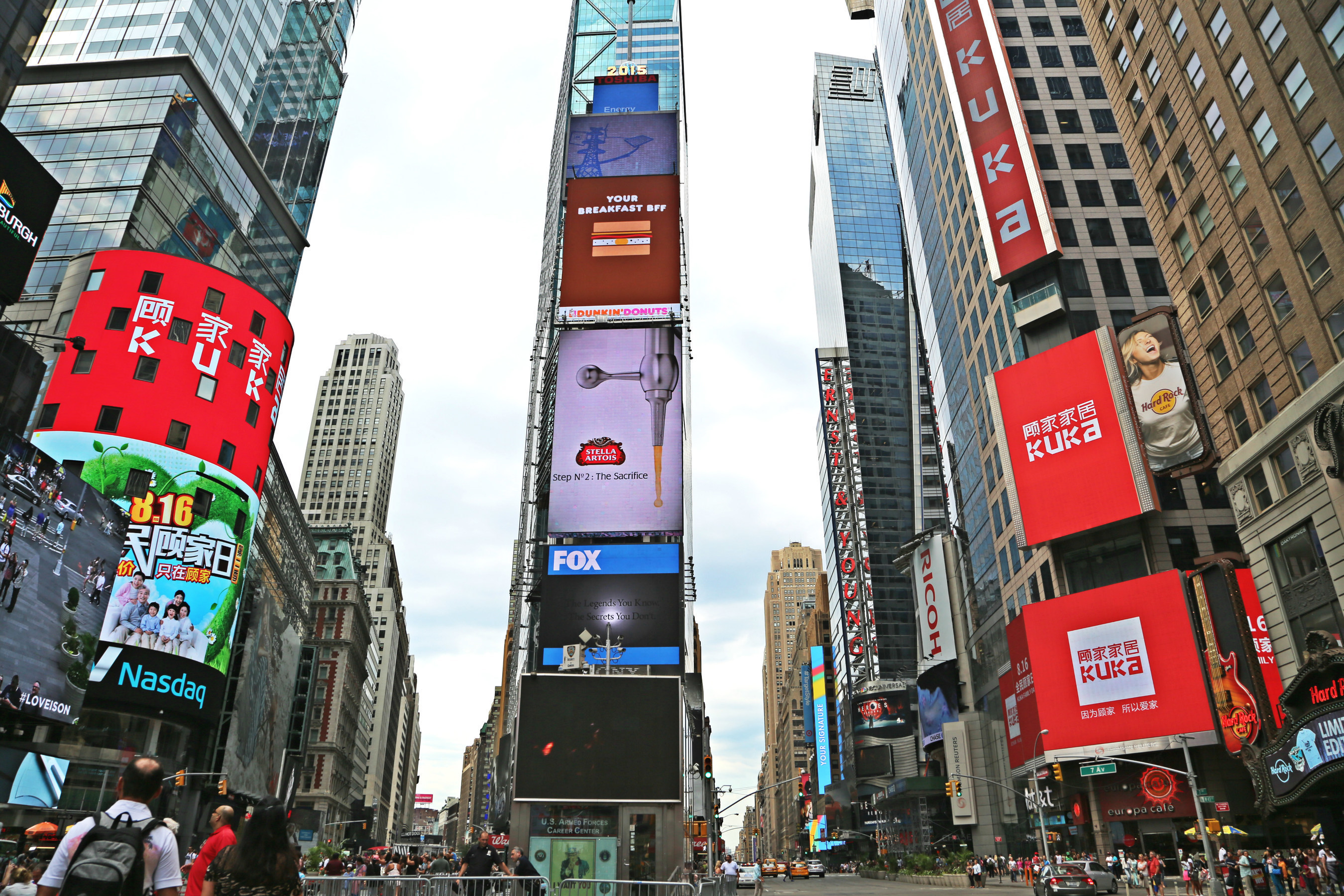 KUKA Home's Short Film About the Importance of Family Debuts on New York's Times Square