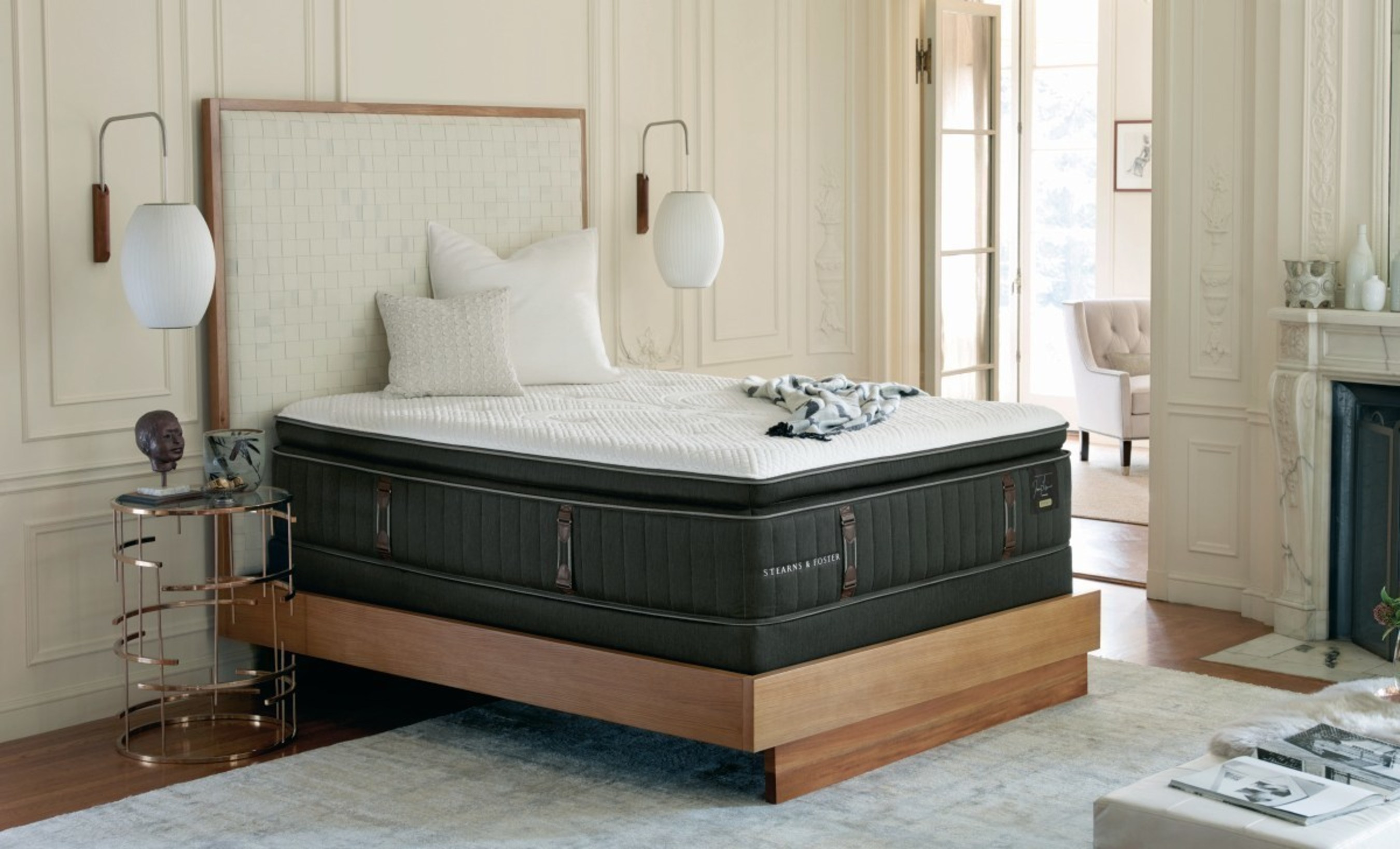 Brand Known For Finest Beds Made Embraces Modern Design As