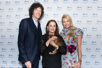 Howard Stern, Belinda Carlisle and Beth Stern at North Shore Animal League America's 2016 Get Your Rescue On Gala