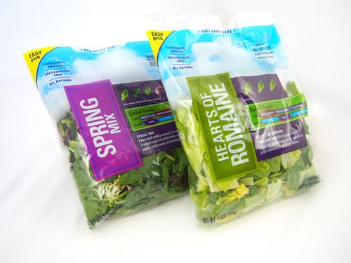 A family of water-based dry bond hybrid laminating adhesives for food packaging, such as lettuce bags.  (PRNewsFoto/H.B. Fuller Company)