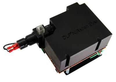 The DLP NIRscan(TM) evaluation module (EVM), the first spectroscopy development platform based on DLP(R) technology. (PRNewsFoto/Texas Instruments) (PRNewsFoto/TEXAS INSTRUMENTS)