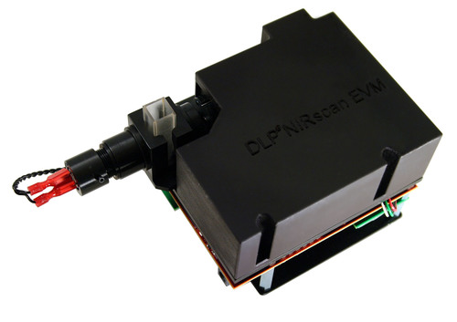 The DLP NIRscan(TM) evaluation module (EVM), the first spectroscopy development platform based on DLP(R) technology. (PRNewsFoto/Texas Instruments)