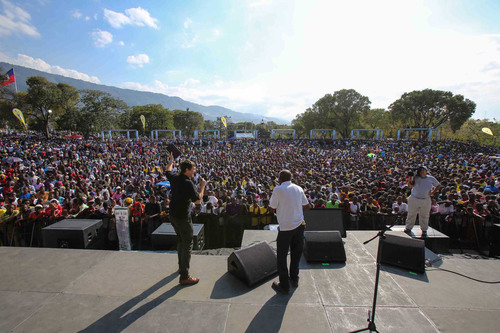 Second evangelistic festival reveals strides in Haiti's road to recovery