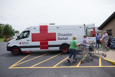Kraft Teams Up with American Red Cross to Donate Emergency Response Vehicles