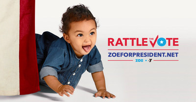 YMCA of the USA (Y-USA) is looking to encourage everyone to get out and vote as a part of the Zoe for President campaign, and has launched a social media video generator to encourage voter participation. Zoe's Rattle the Vote video generator gives users the opportunity to create video messages from Zoe, the Y's adorable one-year-old campaigner for all kids that can be shared with friends and family on social media channels.