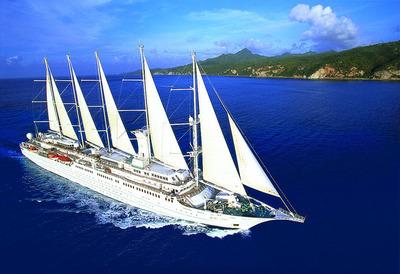 Windstar Cruises Sails Through the Mediterranean.  (PRNewsFoto/Windstar Cruises)