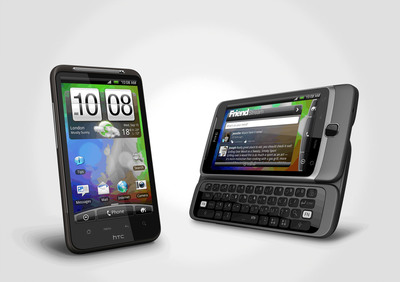 HTC Unveils HTC Desire HD and HTC Desire Z With New HTC Sense and HTCSense.com.  (PRNewsFoto/HTC Corporation)