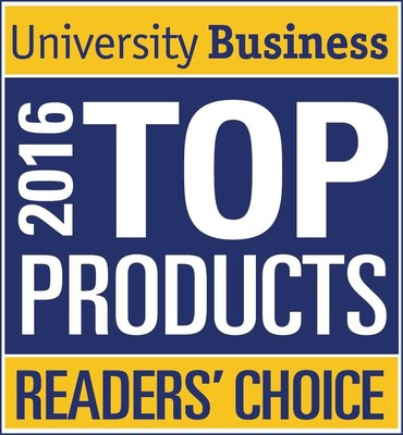 University Business 2016 Top Product Readers' Choice