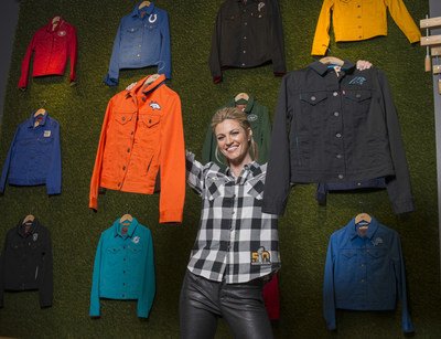 Erin Andrews and the Levi's(R) Brand Announce Expanded NFL Collection to Full League