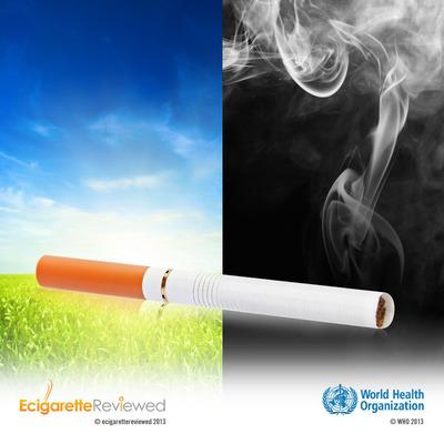 E Cigarette Reviewed calls WHO's approach to e-cigarettes into question.  (PRNewsFoto/E Cigarette Reviewed)