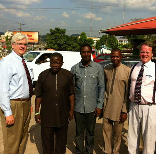 CBS STRUCTURES WORKING WITH ONDO STATE IN NIGERIA ON THEIR SCHOOL AND HOUSING NEEDS. (PRNewsFoto/CBS Structures Inc.) (PRNewsFoto/CBS STRUCTURES INC.)
