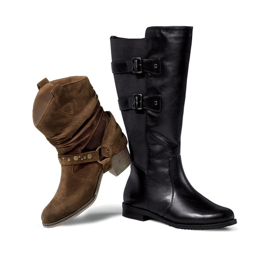 Lane Bryant Features Season's Sexy Shoes and Boots in Hard-to-Find Widths