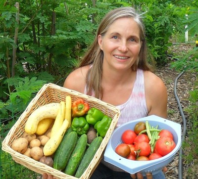 "Marjory Wildcraft ""Homegrown Food On Every Table"" (PRNewsFoto/Marjory Wildcraft)"