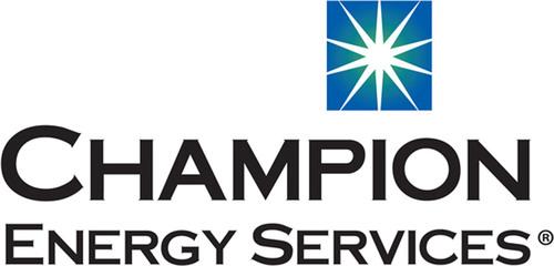 Champion Energy Services. (PRNewsFoto/Champion Energy Services)