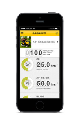 The XT Enduro Series was named as a finalist in the international awards competition for its ability to provide owners real-time monitoring and maintenance notifications through the lawn care industry's first Bluetooth app, Cub Connect(TM).