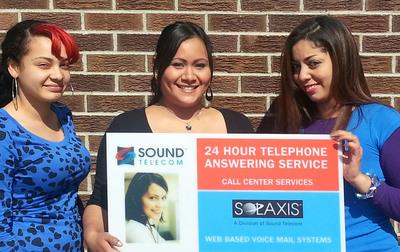 Opening of Sound Telecom Bilingual Call Center in Westminster, Colorado.  (PRNewsFoto/Sound Telecom)