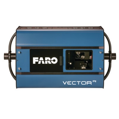 The FARO VectorRI Imaging Laser Radar introduces a new class of LIDAR with High Speed Imaging (HSI) technology. HSI technology combines ultra-high speed 3D scanning and ranging with high-resolution 3D imaging and projection. The solution is a groundbreaking advancement in large-volume, non-contact metrology and guidance - and promises to provide industrial manufacturers with significant inspection cycle time reduction and exceptional throughput.