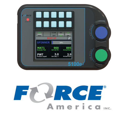 The 5100ex Spreader Control from FORCE America Inc.  (PRNewsFoto/FORCE America Inc.)