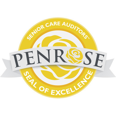 Penrose Senior Care Auditors Seal of Excellence Sets the Standard for Senior Care Facilities, Services, and Products (PRNewsFoto/Penrose Avenue LLC)